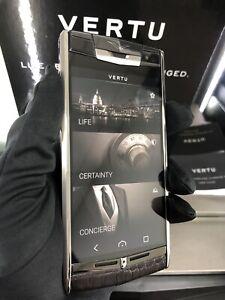 Original Brand Vertu Signature Touch 2014 Alligator, Smartphone Unlocked, Luxury