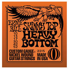 Ernie Ball Cuerdas Conjunto. Skinny Top Heavy inferior 10-52. 2215.