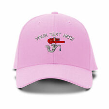 Your Text Here Custom Plumber Embroidered Adjustable Hat Baseball Cap