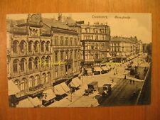 ~1920 alte AK Hannover Georgstraße Straßenbahn Cafe Zahn Atelier