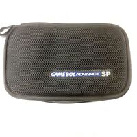 Black Nintendo Game Advance SP Carry Case with Extra Storage