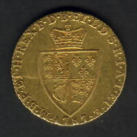 Great Britain. 1787 George 111 - Spade Guinea.. Part Lustre - gVF