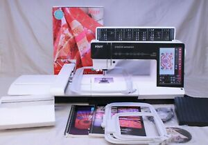 MINT PFAFF CREATIVE SENSATION SEWING, QUILTING & EMBROIDERY MACHINE COMPLETE!