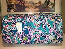 Vera Bradley Quilted Large Traveler Duffel Bag Waikiki Paisley