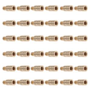 25 Grain Weight Screw Arrow Point Inserts Archery Accessory, 36 Pieces