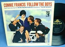 LP CONNIE FRANCIS - FOLLOW THE BOYS // RARE GERMANY MGM 65036