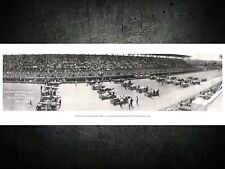1916 Cincinnati Motor Speedway 1st Sweep Race - Remastered Print - FREE SHIPPING
