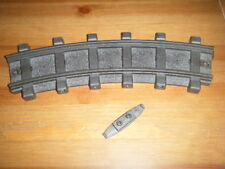 Playmobil train rail courbe