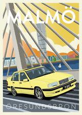 Volvo Retro poster
