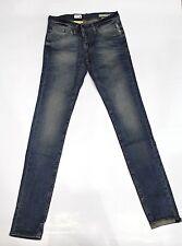 Jeans MELTIN POT Pantalone uomo Modello MISFITS Vestibilità Skinny con Zip Tg30
