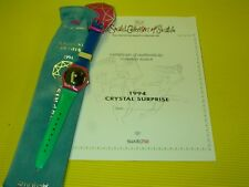 Swatch Collector Nr.4 CRYSTAL SURPRISE - GZ129 by A. Mendini in NEU & OVP