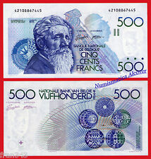 BELGICA BELGIUM BELGIE 500 Francos francs 1982  Pick 143  EBC  /  XF