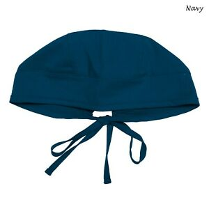 Maevn Unisex Doctor Nurse Solid Scrub Cap Head Cover Hat NC010