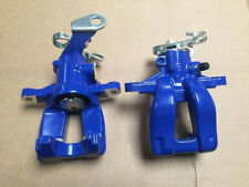 2 REAR BRAKE CALIPERS LH RH BLUE FIAT GRANDE PUNTO ABARTH T-JET MULTIJET JTDM