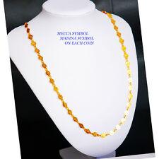 ALLAH Diamante Necklace ,Chain Gold PLATED Islamic Jeweller MECCA/MADINA  U 74