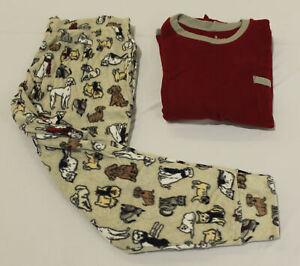 Cuddle Duds Women's Petite 2-Piece Pajama Set AL8 Multicolor Size PXL