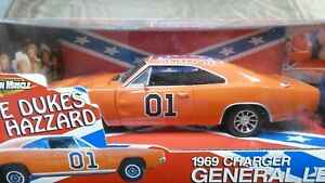 American Muscle ERTL The Dukes of Hazzard 1969 Charger General Lee 1/18 MIB