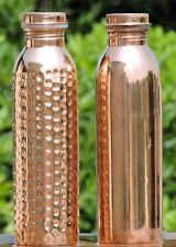 Designer Kupfer Wasserflasche Für Ayurveda Gesundheit Vorteile Verschütten Proof