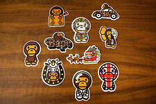 A Bathing Ape Bape Baby Milo Sticker Trunk Notebook Auto Car Skateboard