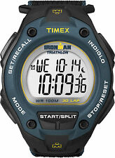 Timex T5K413, Men's Ironman Fast-Wrap Watch, Indiglo, Alarm, T5K4139J