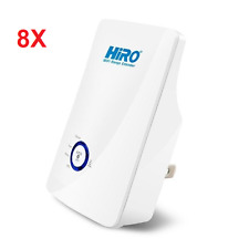 8x HiRO H50291 11n 300Mbps 802.11b/g/n WiFi WLAN Power Signal Booster Repeater R