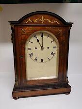 Fine Rosewood Double Fusee London Bracket Clock Fletcher Lambeth St London