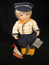 Porcelain Doll by Linda Steele - Hans, Dutch Boy