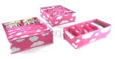 Periea Pack 3. Solution de stockage boîte armoire Organisateur Tiroir Organisateur Chaussettes