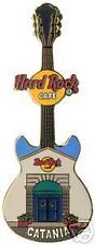 Hard Rock Cafe CATANIA Facade Series. Guitar Pin. RARE
