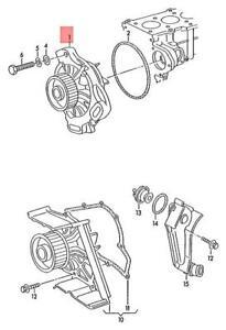 Genuine AUDI 100 Avant quattro Coolant Pump With Sealing Ring 054121004AX