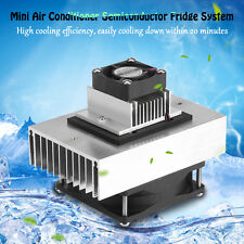 DC12V 65W Semiconductor Refrigeration Cooling System Kit Pet Air Conditioner DH