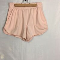 Nike Dri Fit Women's Peach High Waisted Shorts Medium