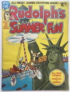 Rudolph's Summer Fun DC Treasury Edition C-60 (1978) DC RARE HTF