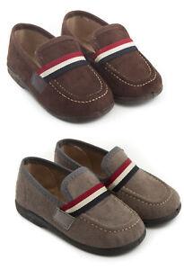 Kinder Schuhe Baby Schuhe MOKASSIN Lauflernschuhe Nostalgie Gr. 21-26 WASCHBAR