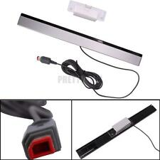 New Wired Remote Motion Sensor Bar IR Infrared Ray Inductor for Nintendo Wii