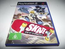 Skate Attack PS2 PAL *No Manual*