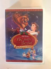 Beauty and the Beast:An Enchanted Christmas(DVD,2002,Special Edition)AuthenticUS