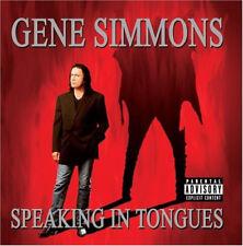 Gene Simmons-Speaking dans cinquième-CD-NEUF NEUF dans sa boîte-Kiss