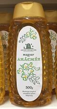 REAL HUNGARIAN ACACIA BEE HONEY 1.1 LBS FROM HUNGARY ALL NATURAL FREE SHIPPING