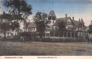 Postcard Newton Inn in Norwich, Vermont~122036