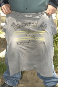 Muhammad Ali t shirt float like a butterfly sting like a bee Under Armour Large