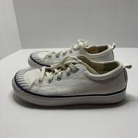 Keen Womens Elsa III Off White Cap Toe Sneaker Size 7 Comfort Nautical