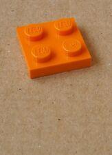 Lego 50x placa 2x2 naranja 3022 placas de nuevo Orange plate plates New