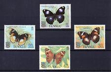 Tuvalu 1981 Butterflies MNH set S.G 158-161