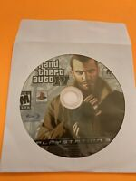 🔥 PS3 PLAYSTATION 3 🔥💯WORKING GAME DISK ONLY 🔥 GRAND THEFT AUTO IV 🔥