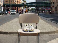 HANS SACHS Damen 80er Schuhe 80s Sandale Gr. 37 Uk 4,5 Weiss True VINTAGE