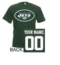 New York Jets T-Shirt JERSEY NFL Personalized Name Number Team Football