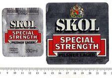 UK Beer Label - Ind Coope Brewery - London - Skol Special Strength