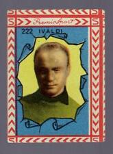 B.E.A. BEA ALBO PREMIO GOOL SPORT 1949 1950 49 50 FIGURINA N. 222 IVALDI