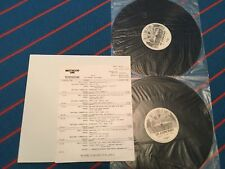 Motley Crue Black & Blue 2 LP Westwood One In Concert Radio Shout At The Devil
